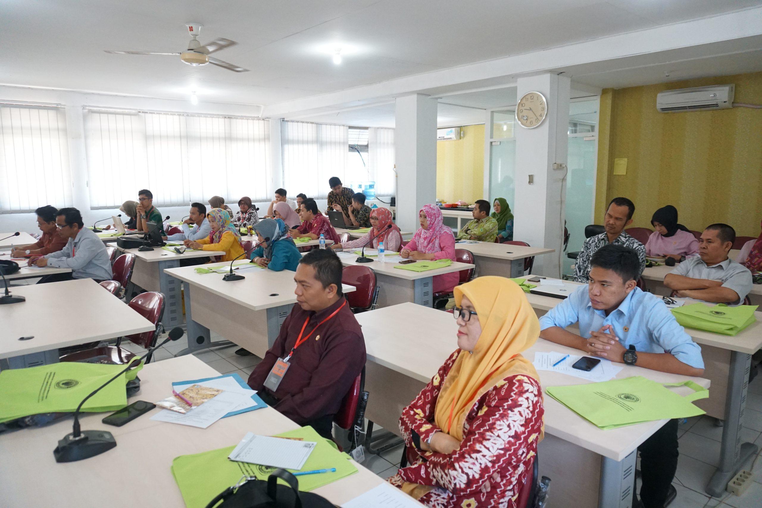 Sosialisasi E-Learning pada Tingkat Fakultas Universitas Lambung Mangkurat 2018