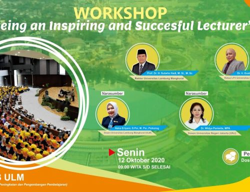 Workshop Being an Inspiring and Succesful Lecturer