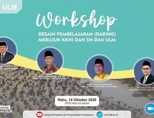 Workshop Desain Pembelajaran (Daring) Merujuk KKNI dan SN Dikti
