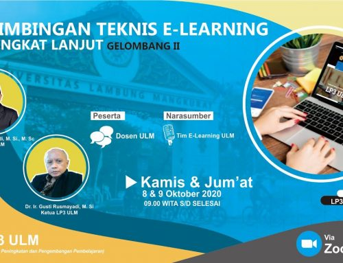 Bimtek E-Learning Tingkat Lanjut – Gelombang II